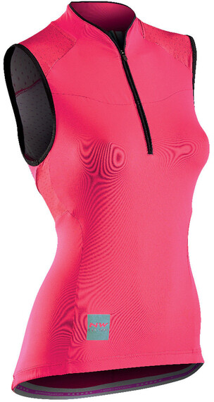 Northwave Venus 2 Sleeveless Jersey Women red/black